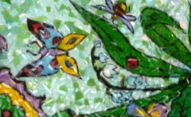 Поделки из битого стекла своими руками